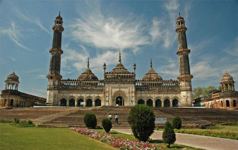 Asfi mosque, located near the Imambara, Lucknow,