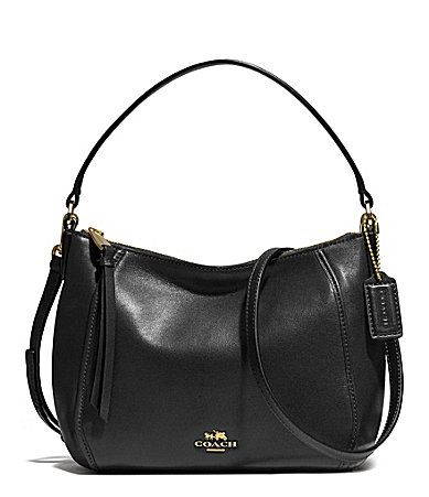 COACH MADISON TOP HANDLE IN LEATHER #Dillards