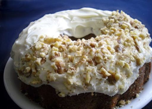banana cream  cake...great way to use bananas about to go bad.
