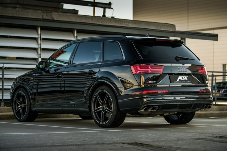 Black Darker Stronger And Also A Beauty Cars And Motor Audi Sq7 Auto Bild Autos