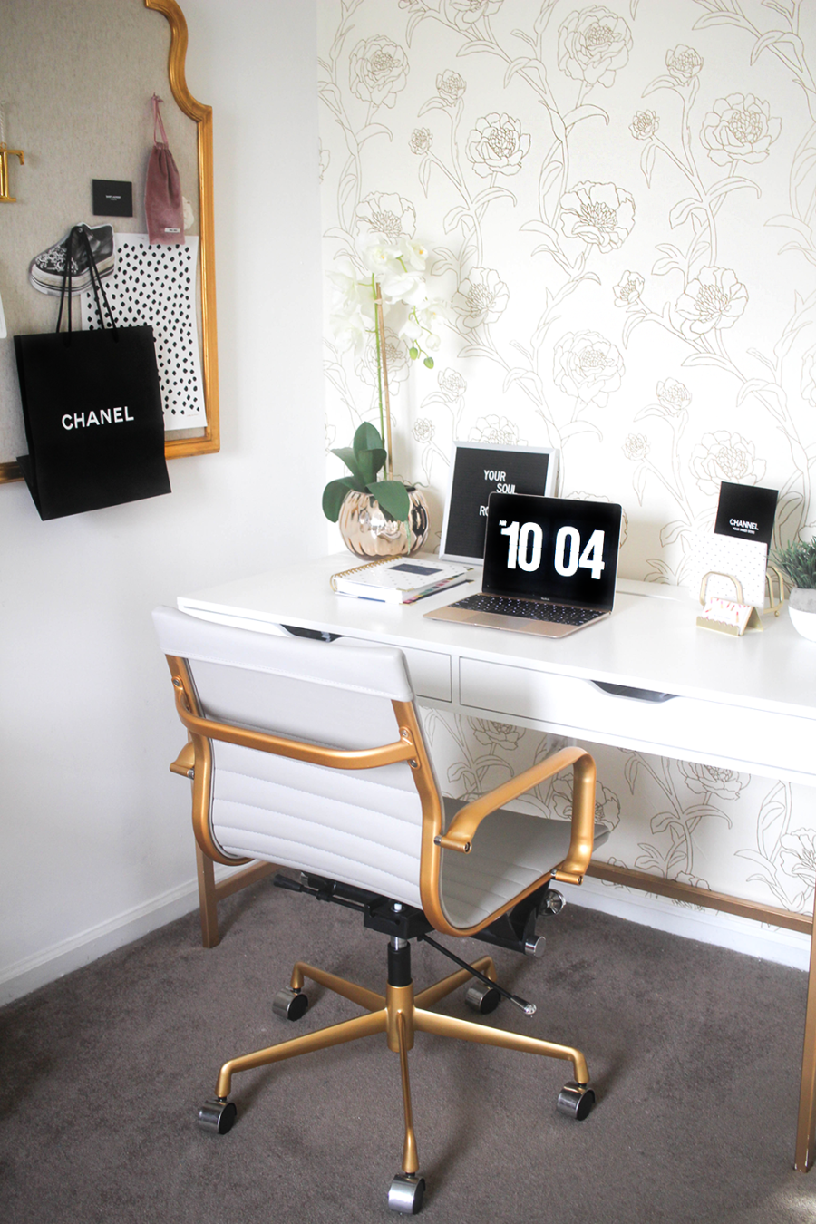 Most Fashionable Home Offices for Cool Telecommuters | Pinterest ...