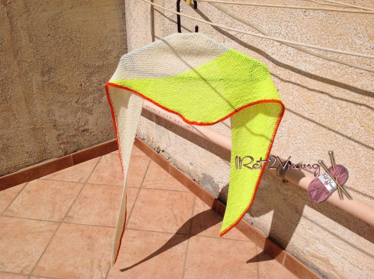 sciarpa 3 colori  fresca