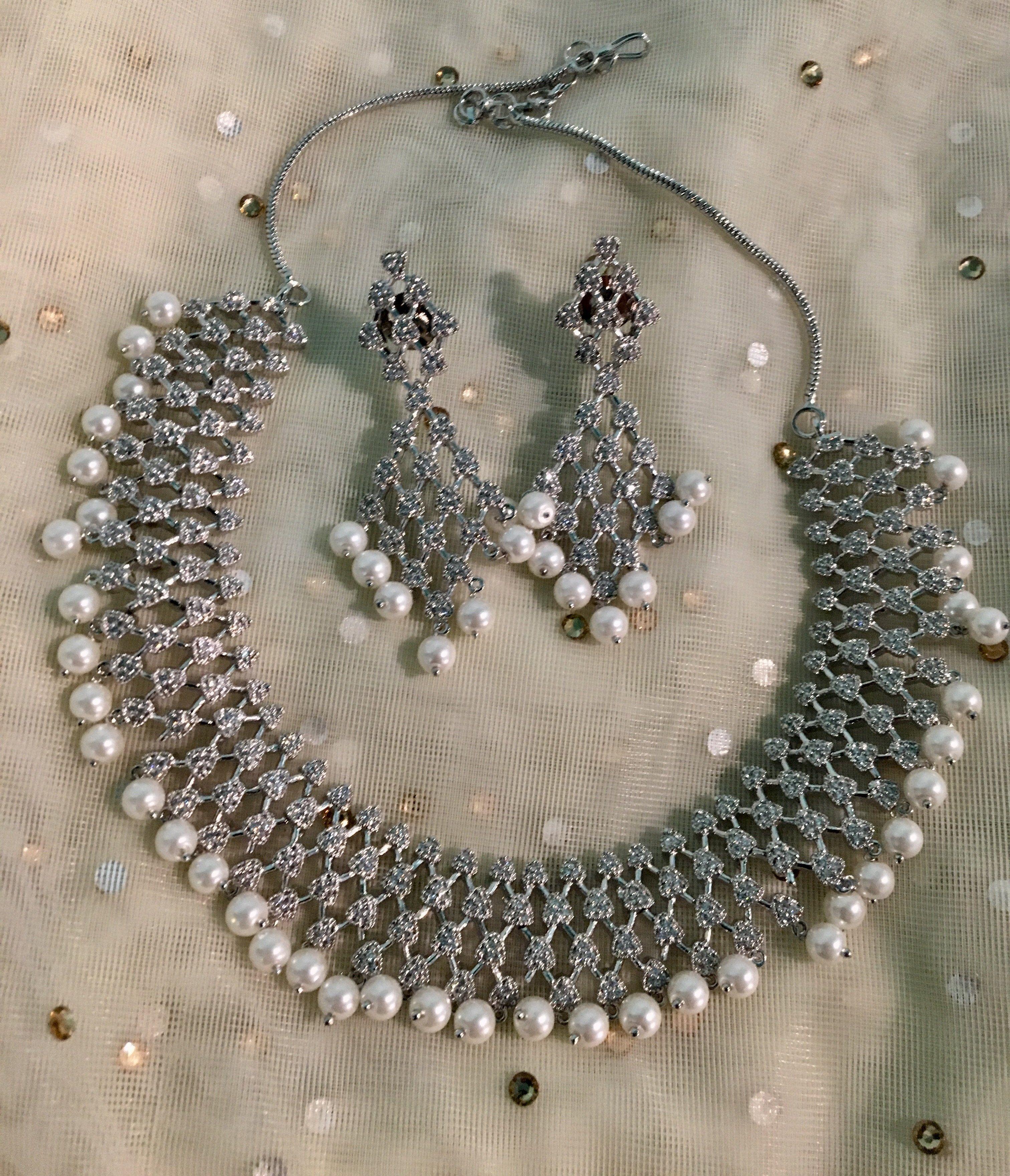 Aashna necklace set gghh pinterest products