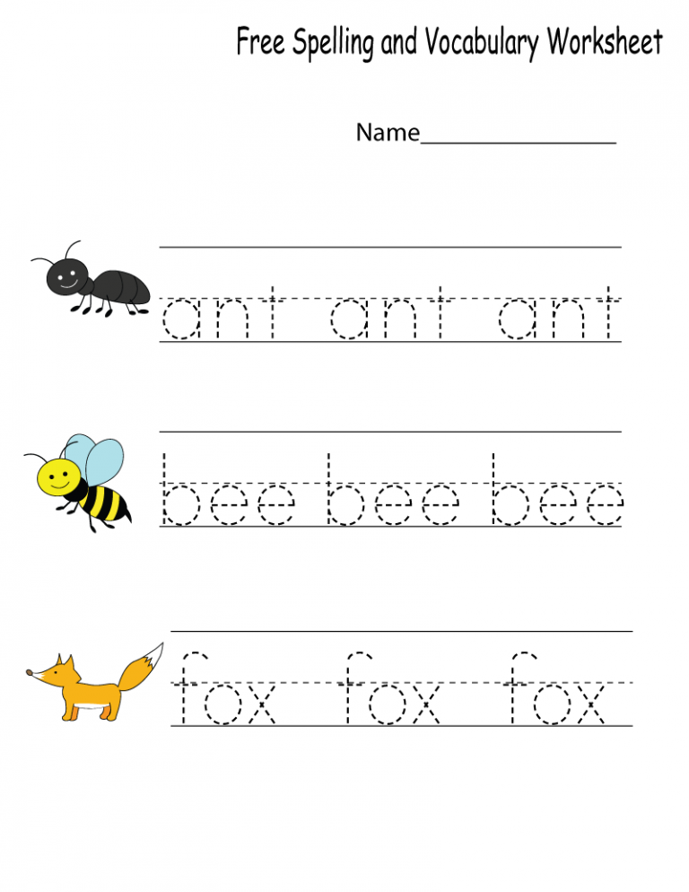 Pin on Spelling worksheets