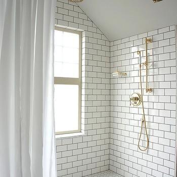 Floor Tile Decor Black Hex Shower Floor  Design Decor Photos Pictures Ideas
