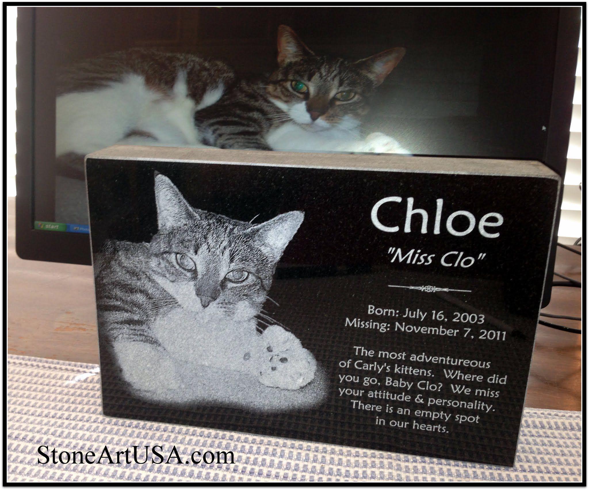R I P Chloe Pet Memorial Ideas 12 Quot X8 Quot X2 Quot Granite