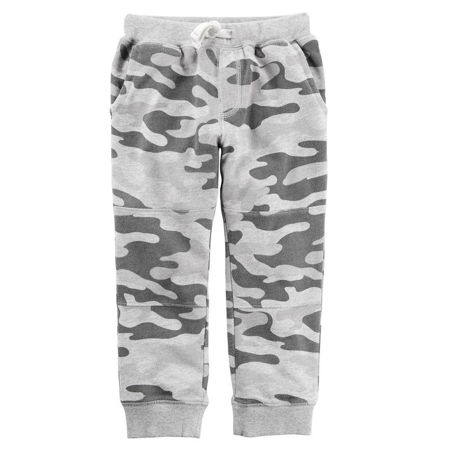 More Mile Brushed Fleece Boys Joggers Grey Sweatpants Kids Sports Pants