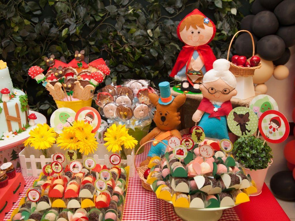 festa infantil chapeuzinho vermelho rustico - Pesquisa Google