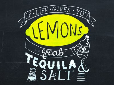 If Life Gives You Lemons Grab Tequila Salt Funny Tequila