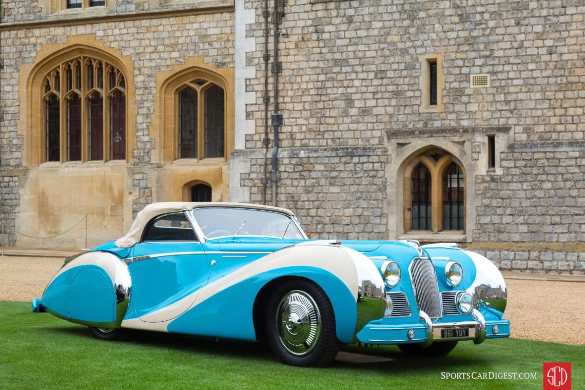 1948 Talbot Lago T26 Saoutchik Grand Sport Cabriolet Vintage Cars Windsor Castle Cool Cars