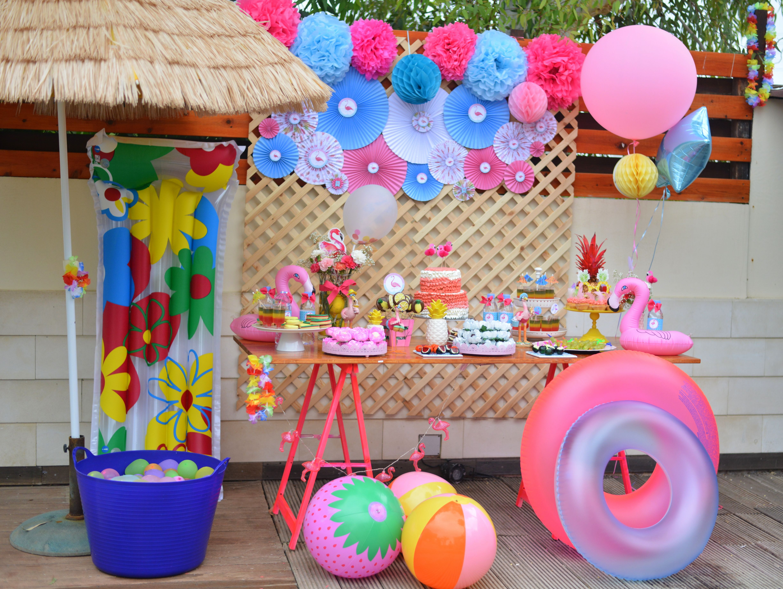 Pin de livia lanini en anivers rio pinterest fiestas for Ideas para cumpleanos en piscina