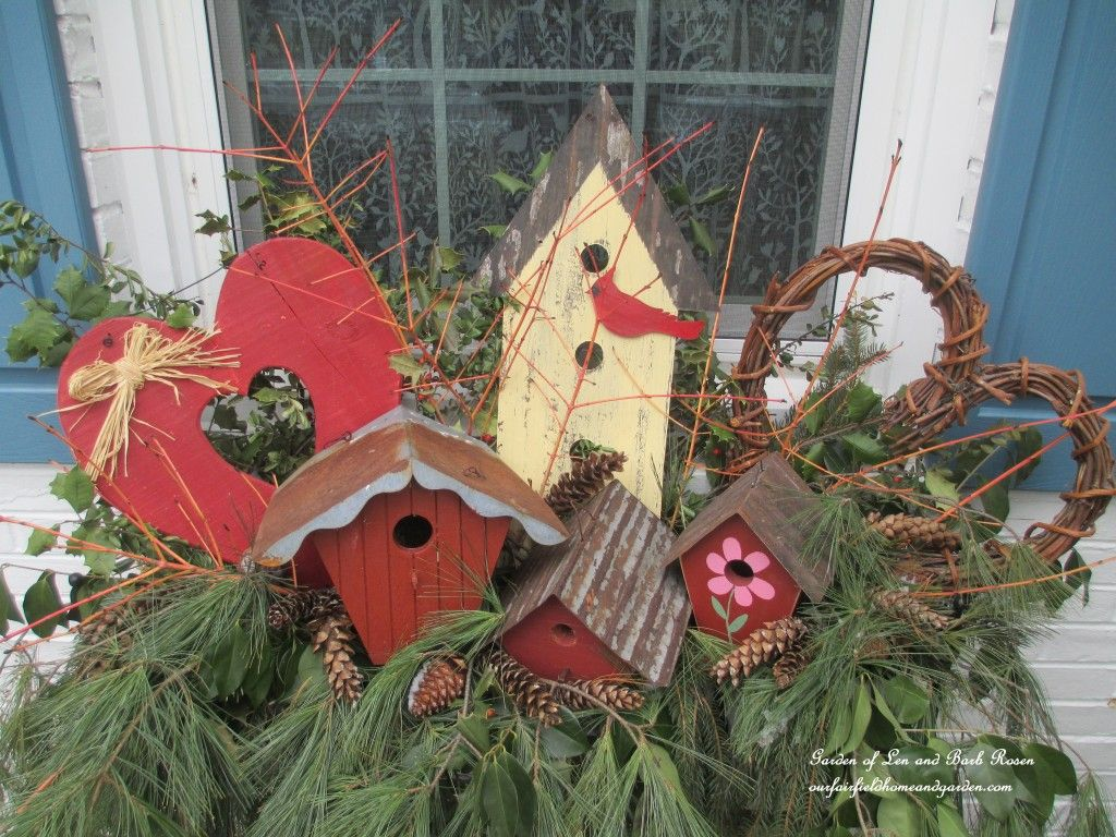 Valentine's day garden decor  Pin by Our Fairfield Home u Garden on Your Best DIY Projects