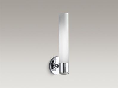 Master Bathroom Sconce To Match Faucets Etc Kohler K 14483 Cp Purist Single Wall