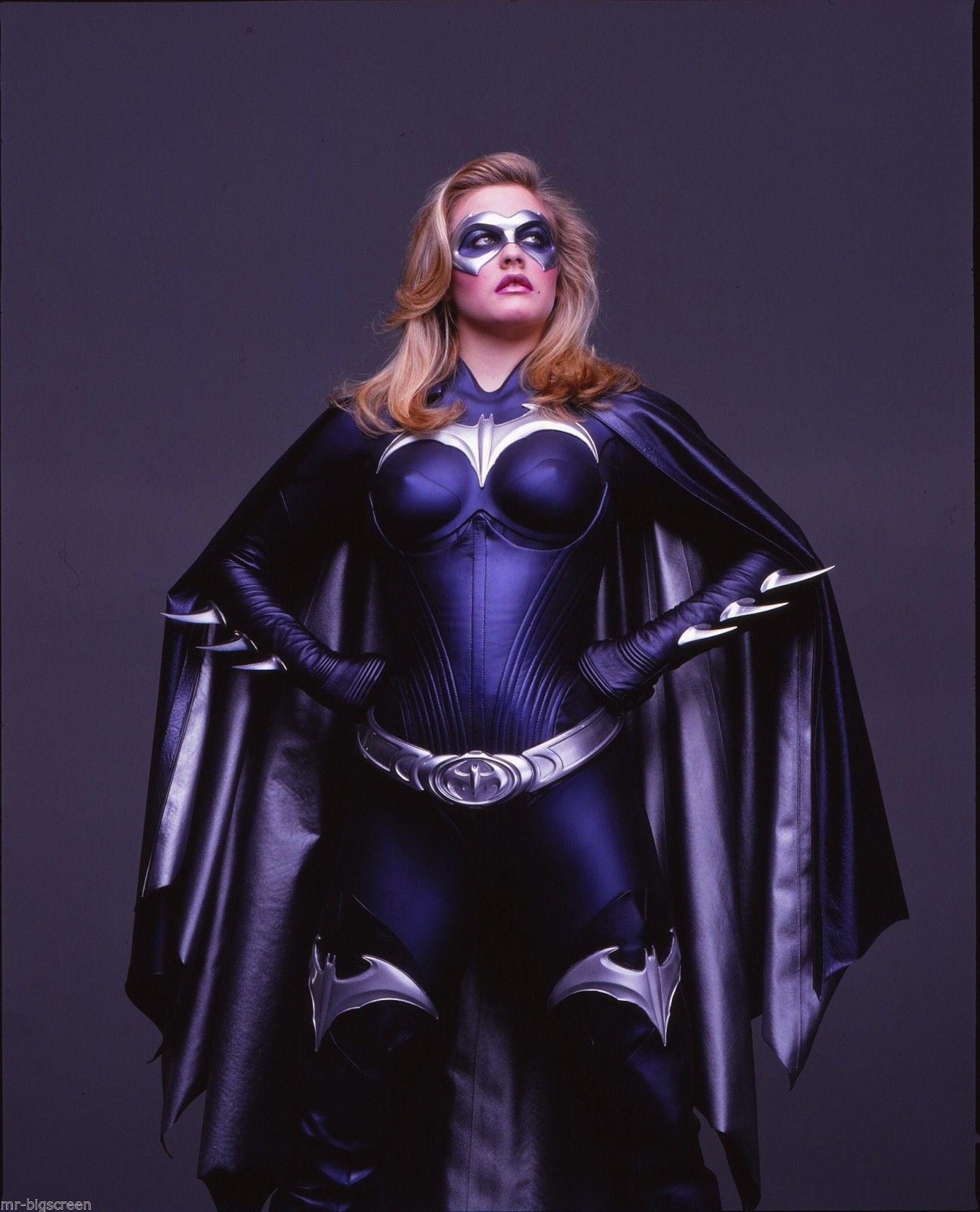 Alicia Silverstone As a Batgirl