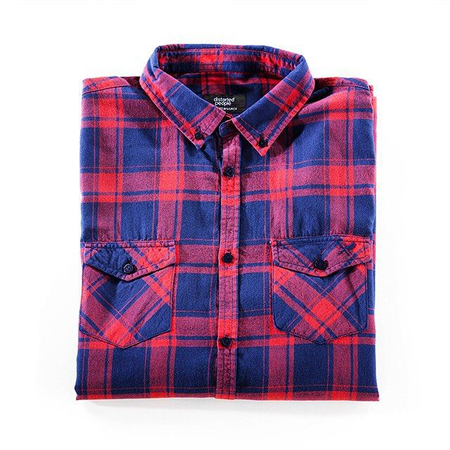 BLUE/RED CHECKERED SHIRT www.distortedpeople.com #distortedpeople #ootd #picoftheday #fashion #men