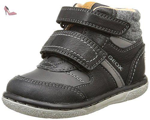Geox B Flick C Chaussures  Marche Bébé homme Noir NoirC9999 26