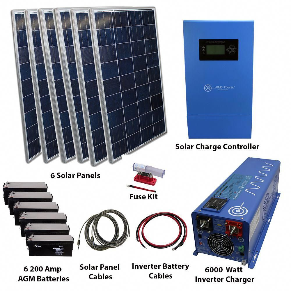 1590 Watt Solar With 6000 Watt Pure Sine Power Inverter Charger 120 240vac 24vdc Solarpanels Solarenergy So In 2020 Solar Energy Panels Solar Panels Best Solar Panels