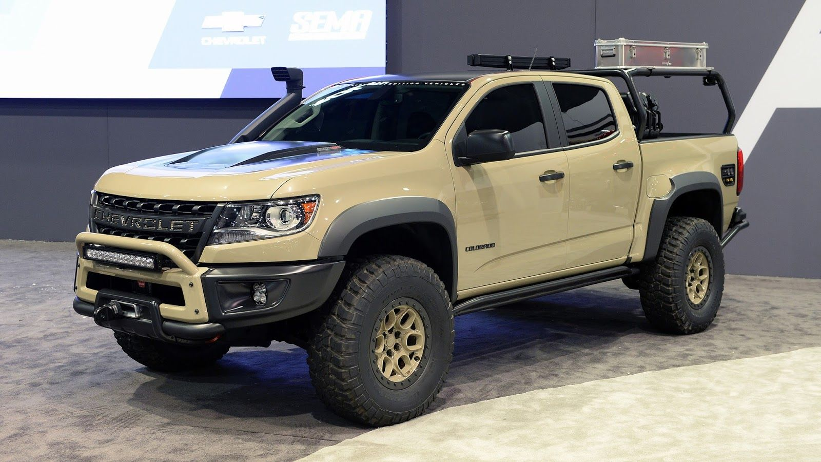 © Automotiveblogz: Chevrolet Colorado ZR2 AEV Concept ...
