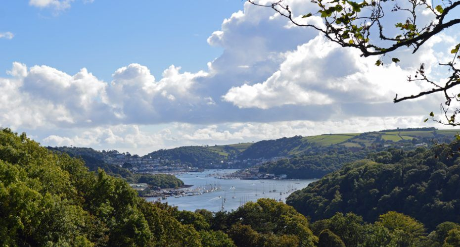 South Devon Walks: Dartmouth to Dittisham, via Greenway ...