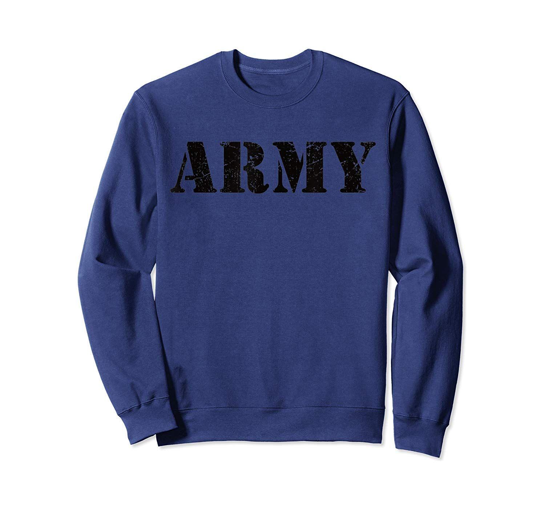 US Vintage Retro USA Army Military Green Olive Logo Men Gift Sweatshirt #craterlakenationalpark