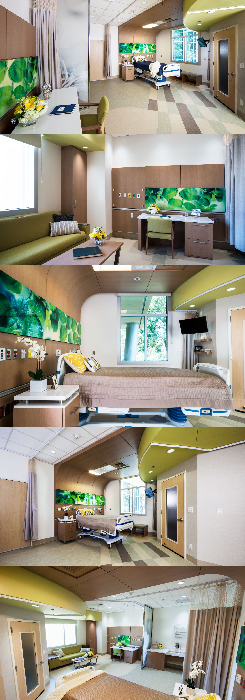 Hospital Room Interior Design: Healthcare Design For Providence Saint Josephs Medical