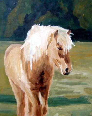 Heste - Atelier & Galleri www.joanbittenhansen.dk