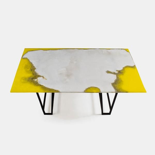 Canyon Marble Dining Table White Yellow Dining Table Marble Marble Dining Small Dining Table