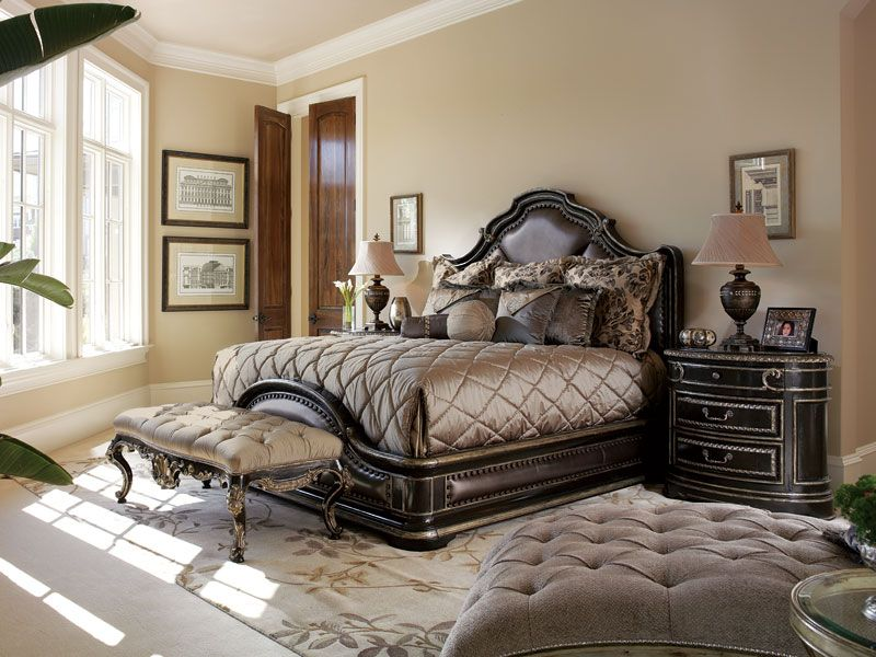 Gorgeous Bedding On This Marge Carson Piazza San Marco Bed Luxurious Bedding Pinterest