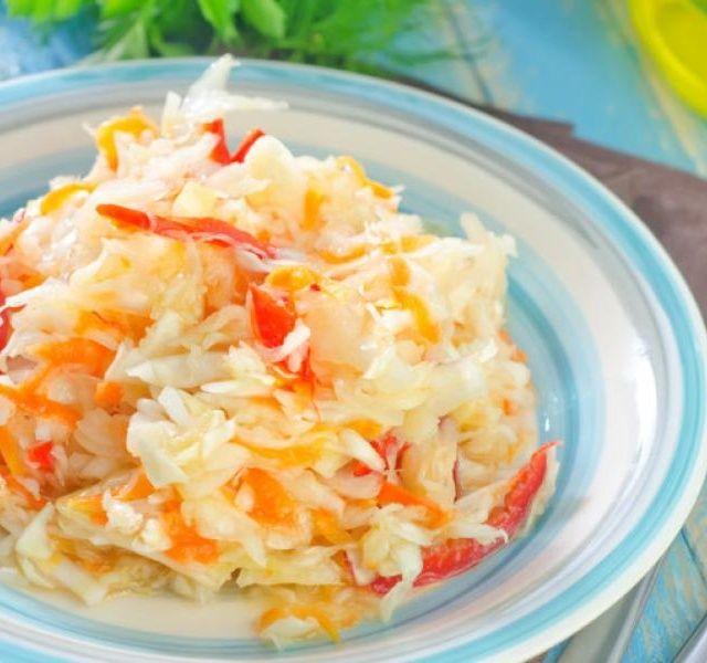 Recept na salat coleslaw