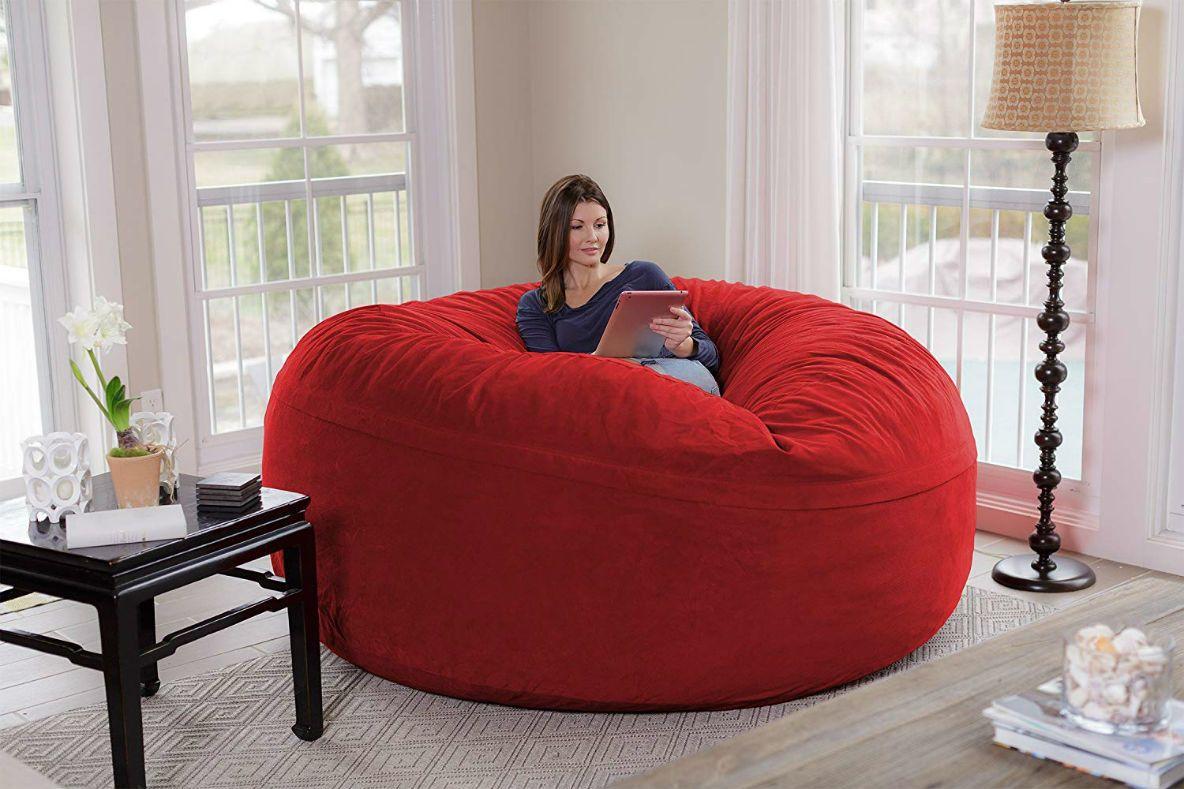 この 人をダメにするソファ はなんと6畳サイズ デカすぎ 大きなソファ ソファ クッション ソファ