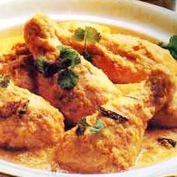 Cremiges indisches Hähnchen (Korma)