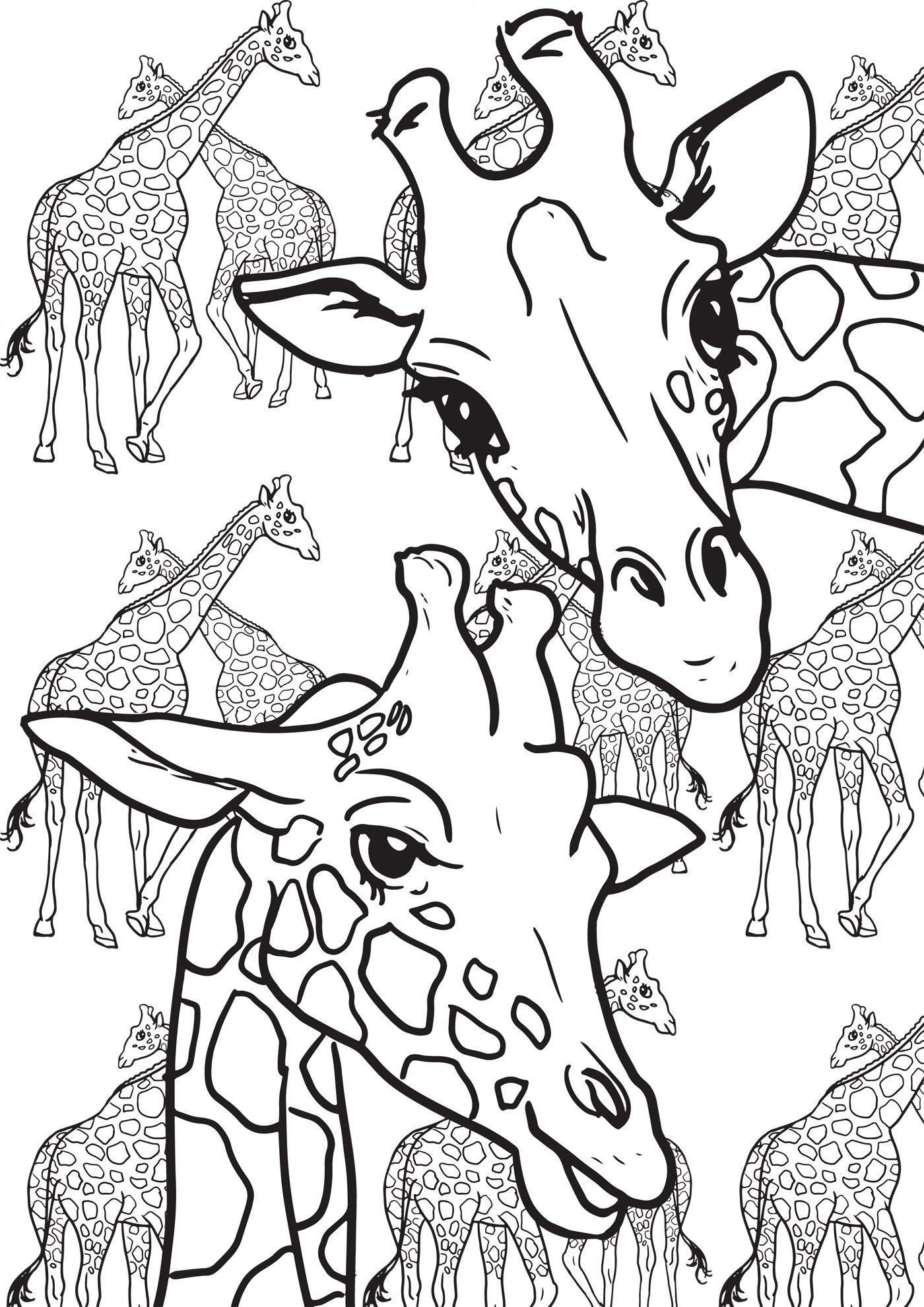 Small and large animals critters: My first art therapy - 100 ...