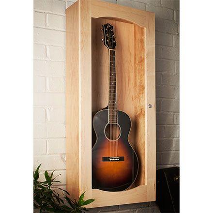 Build It Yourself Guitarcase Guitar Display Case Guitar Display Display Case