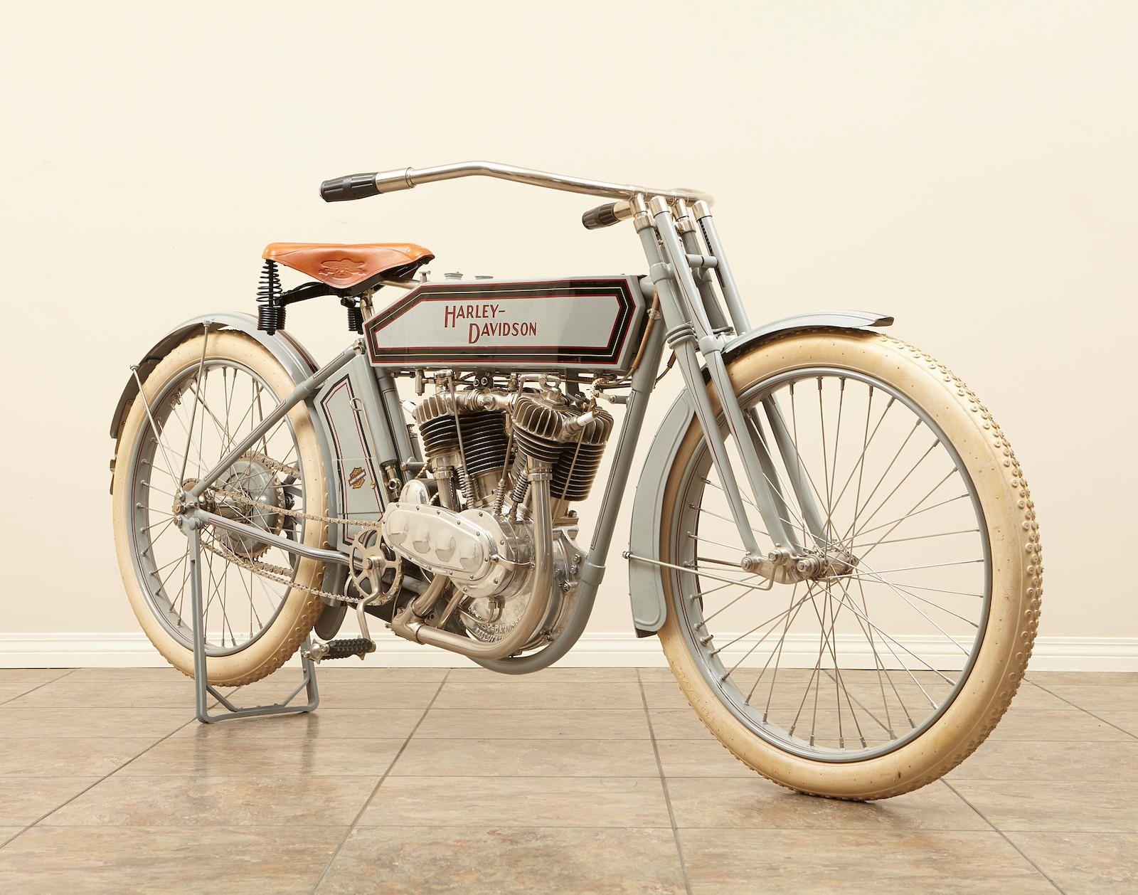 1912 Harley Davidson Twin Engine No 6163b Harley Davidson Model Harley Davidson History Harley