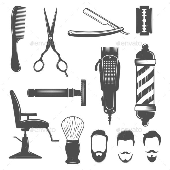 Barber, Hairdresser Logo, Hairdresser