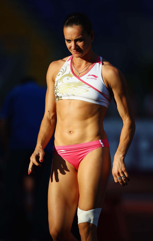Yelena Isinbayeva | Athlete, Yelena isinbayeva and Darya ...