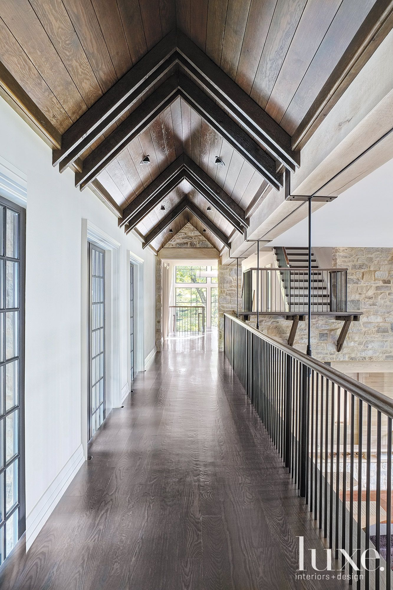 Corridor Roof Design: Pin By Tricia Willis On Details