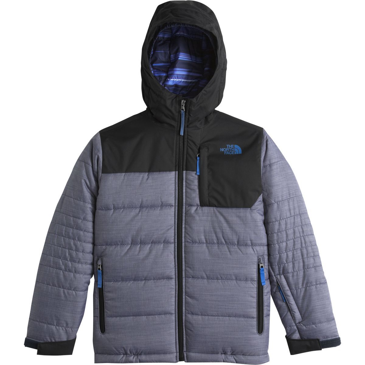 The North Face Caleb Insulated Jacket Boys  Cosmic Blue Heather M ... 6fb4a9537
