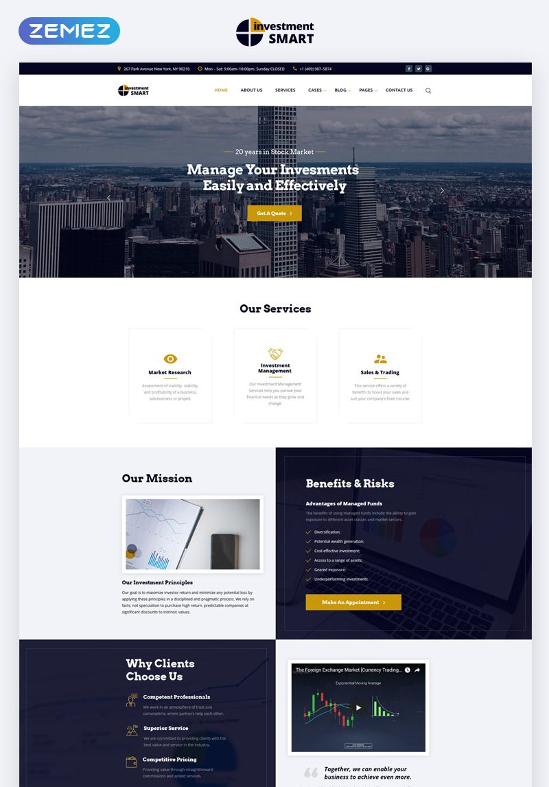 Who needs web development html templates Investment Multipage Html Template Minimal Web Design Web Design Tips Web Development Design