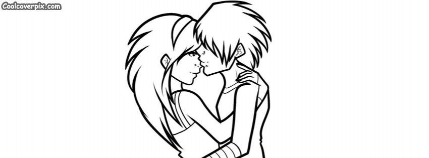 Cute Cartoon Coulple Love Facebook Cover Emo Cartoons Cute Cartoon Cartoon