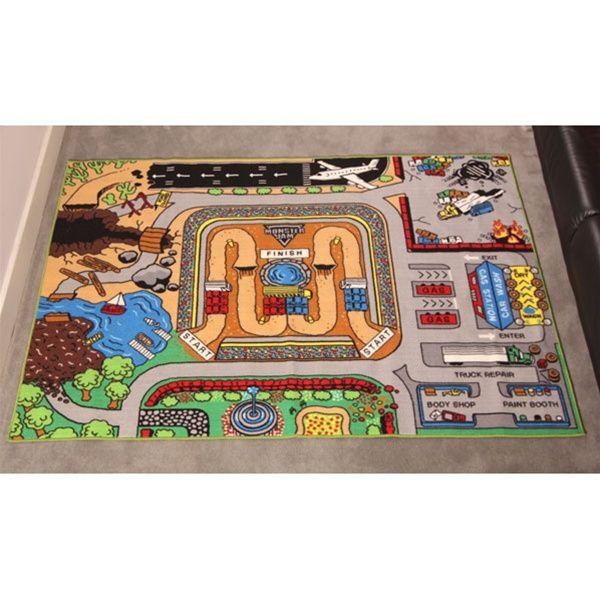 Monster Jam Play Rug Play Rug Monster Truck Room Monster Truck Party