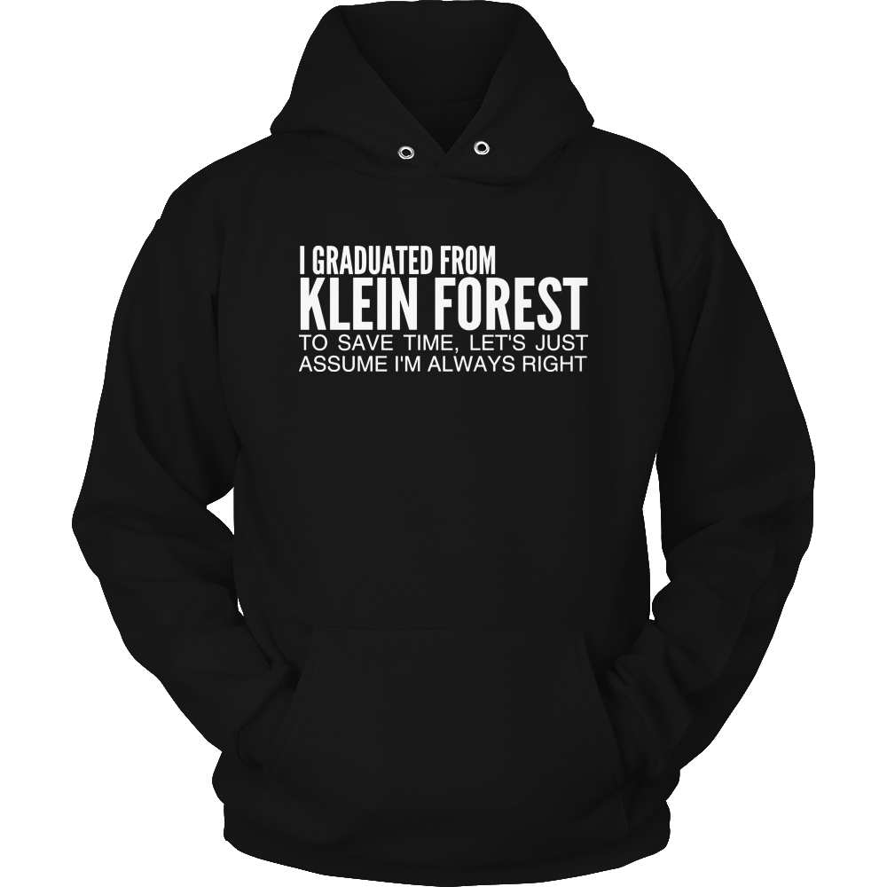 Klein Forest Graduated From Hoodie