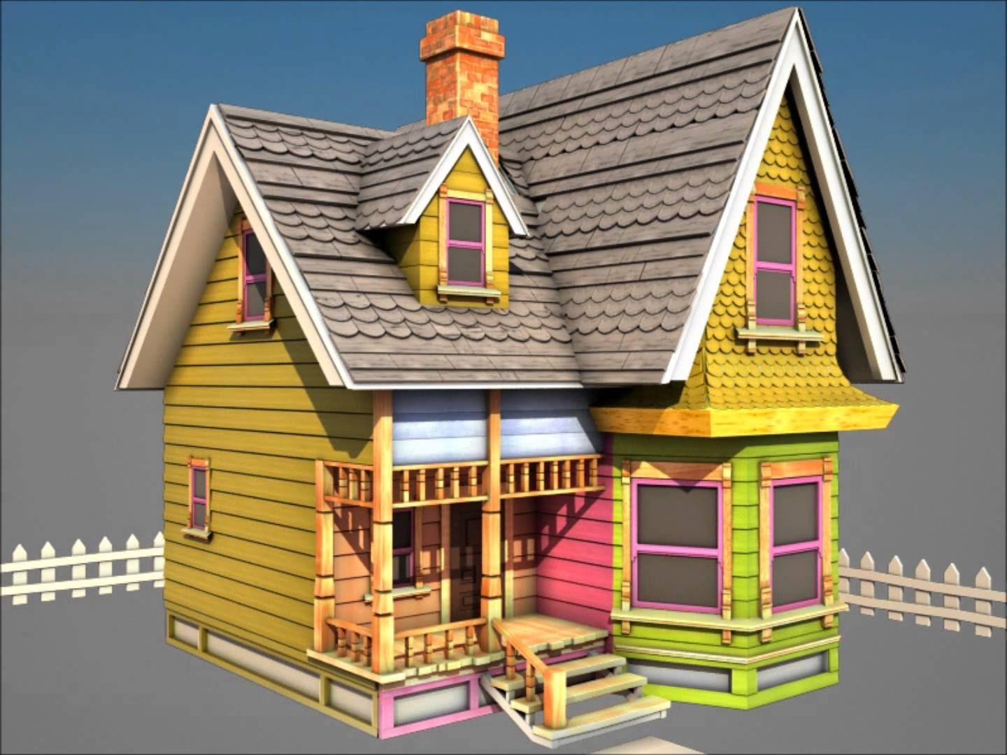 Pixar Up House of Carl Fredrickson Up house