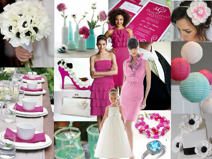 Fuschia & Tiffany Blue Inspirations | Suddenly Streicher ...