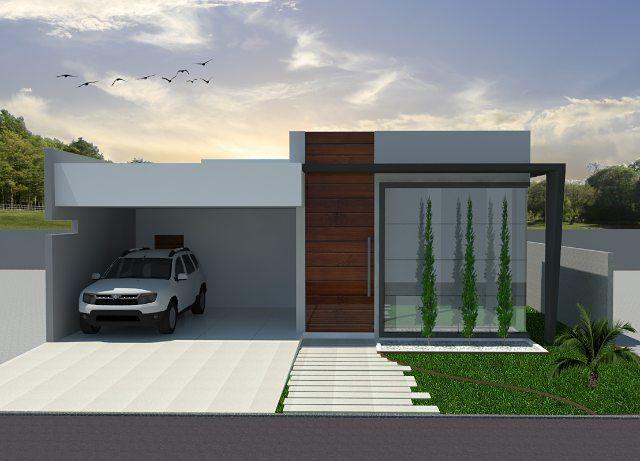 Famosos modelo de casas terreas pequenas modernas - Pesquisa Google | Casa  EO43