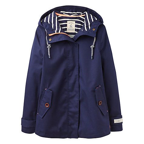 67d687c1d9e8 Buy Joules Right as Rain Coast Waterproof Jacket, French Navy Online at  johnlewis.com