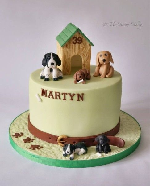 Birthday Cake Images For Dog : Dog Cake - The Custom Cakery 2 # Cakes - Dog & Cat ...