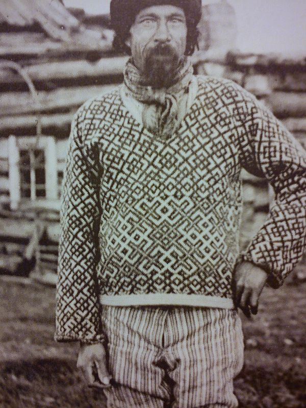 Love this sweater from the beginning of 1900