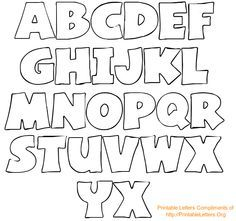 Alphabet Letters To Trace And Cut PrintablelettersOrg Alphabet