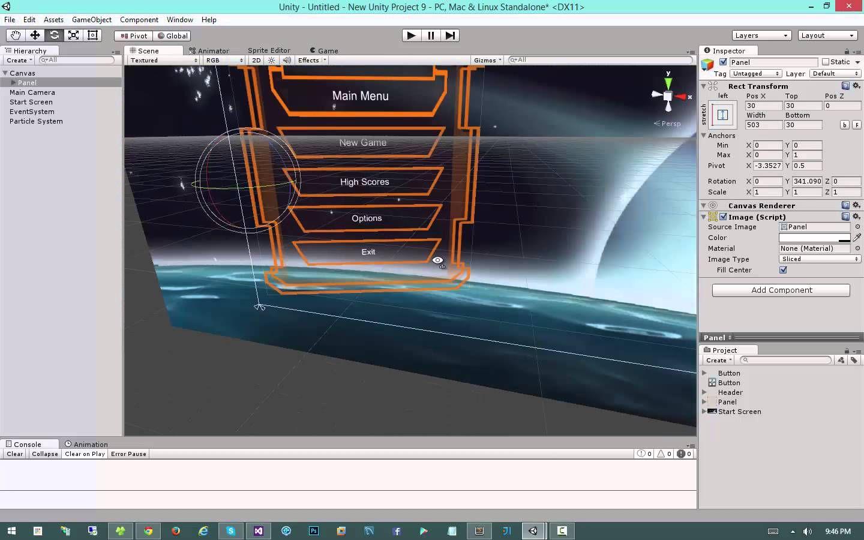 Modern GUI Development in Unity 4 6 - #9: Main Menu System